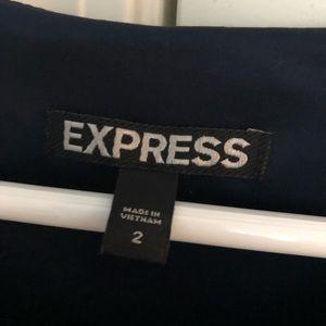 Express Dresses - Navy Blue Dress